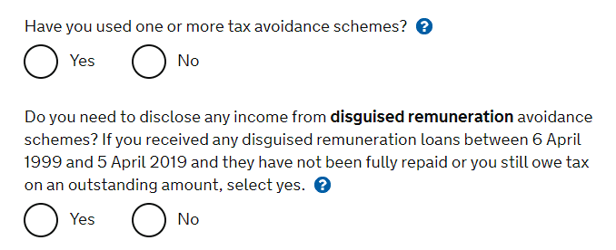 How to avoid taxes on investments - if you use a tax avoidance scheme, HMRC will ask you to disclose this on your tax return.