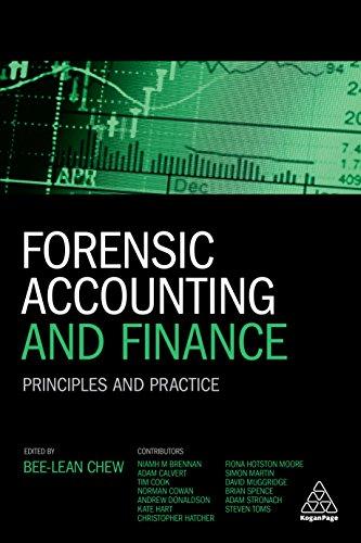 Forensic Accounting & Finance