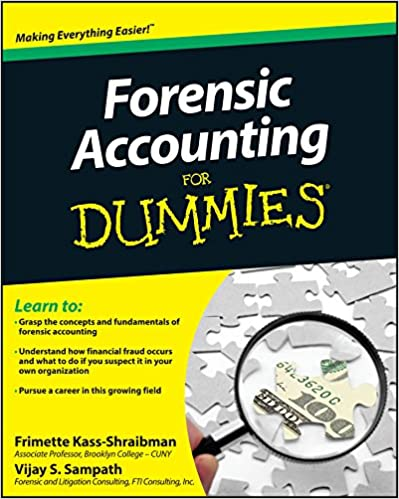 Dummies guide to forensic accounting
