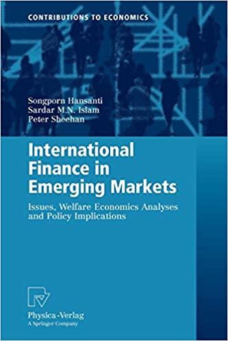 International finance in emerging markets