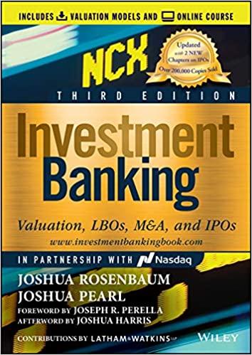 Investment Banking NCX