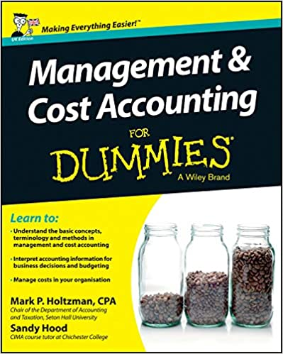 Management & Cost Accounting for Dummies