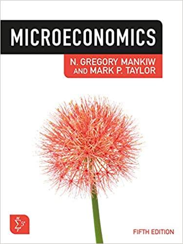 Microeconomics Gregoryl