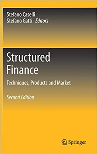 Structured Finance - Techniques Products and Market