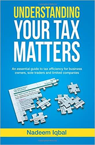 Understanding your tax matters