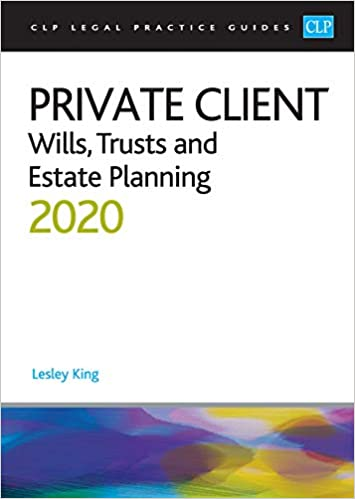 Private client wills trusts and estate planning