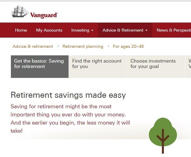 Best online investing course - Vanguard