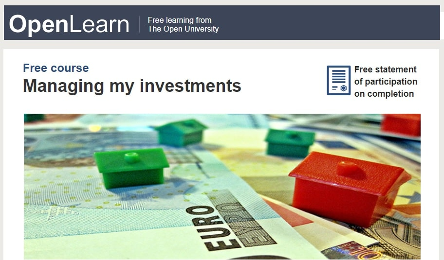 Best free investing courses - Open University